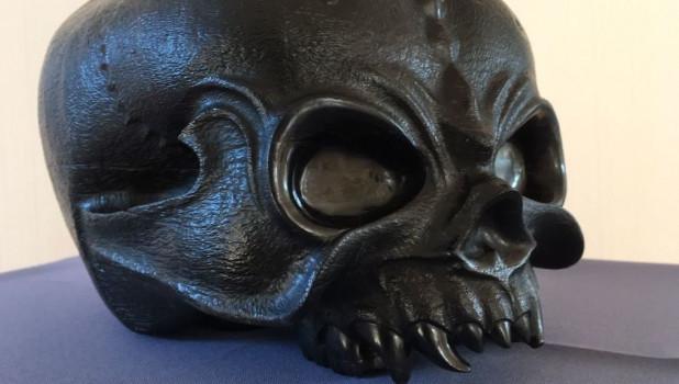 Череп инопланетянина, который сделал бийский мастер, стал экспонатом Эрмитажа.