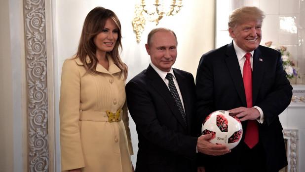 Федеральный реестр США раскрыл, что дарил Путин американскому лидеру
