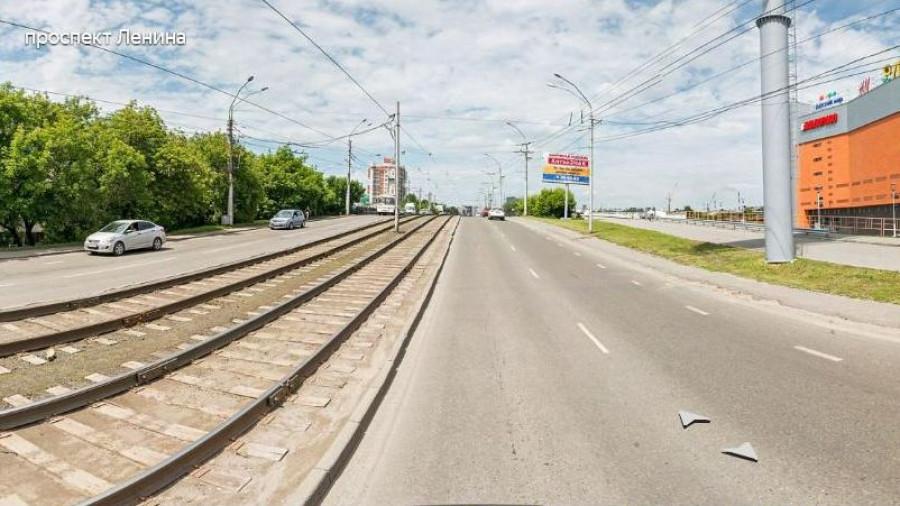 Путепровод на проспекте Ленина в Барнауле