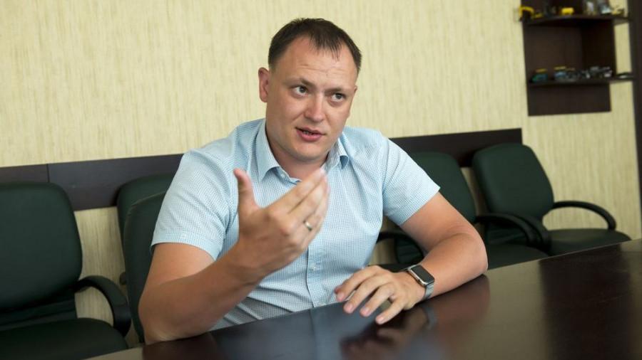 """Николай Данилин, директор """"Барнаульского ДСУ №4"""""""