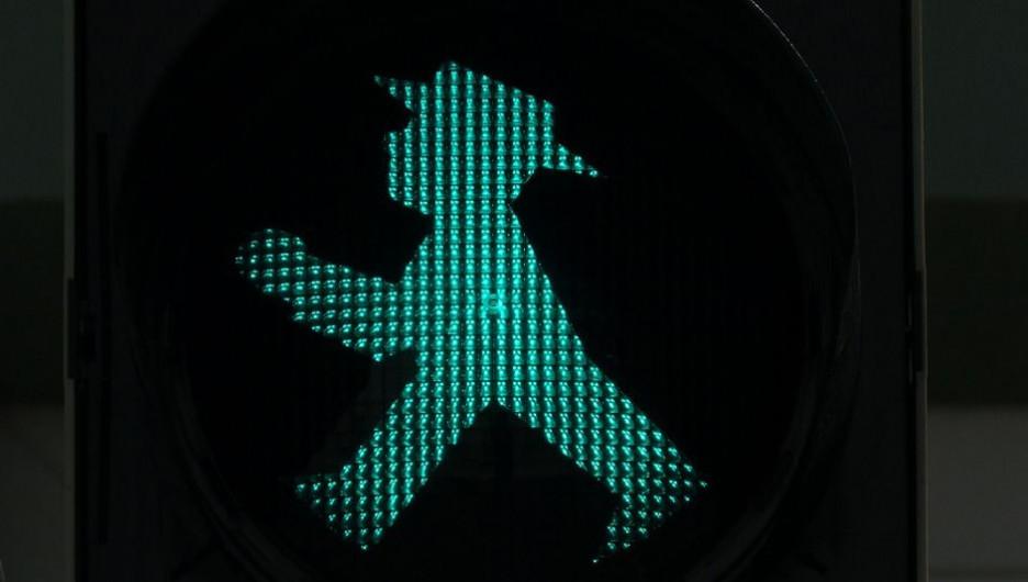 Пешеход. Светофор.