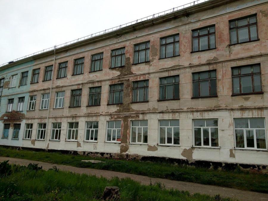 Ветхое состояние кадетской школы в Рубцовске