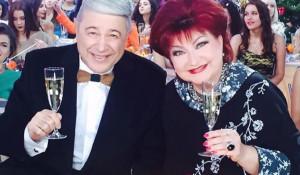Евгений Петросян и Елена Степаненко.