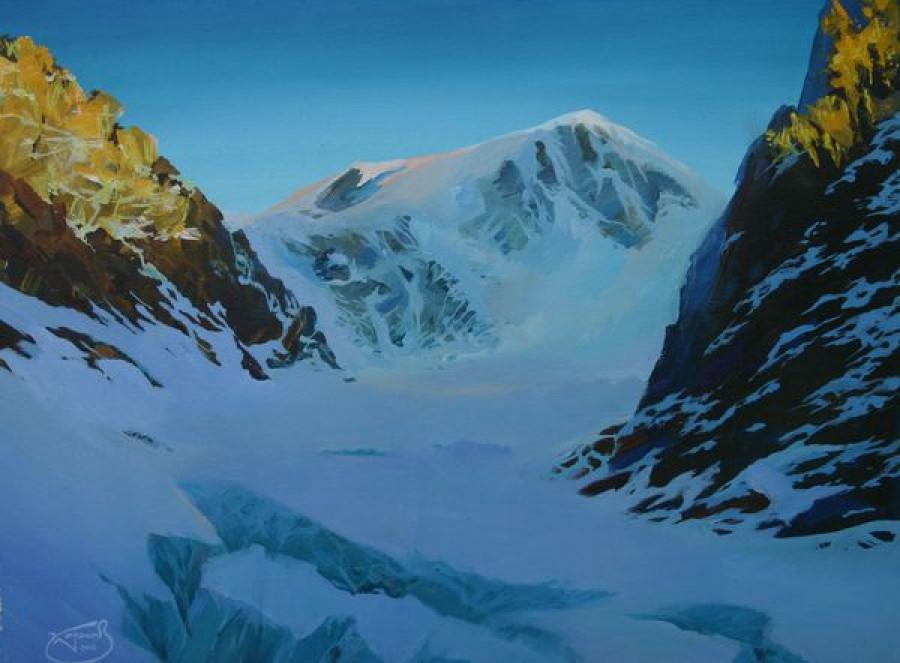 Ледник Малый Ак-Туру. 2006. Х., темп.