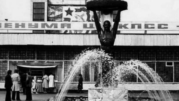Барнаульский шинный завод (пр.Космонавтов, 12). Барнаул в 1980-х годах