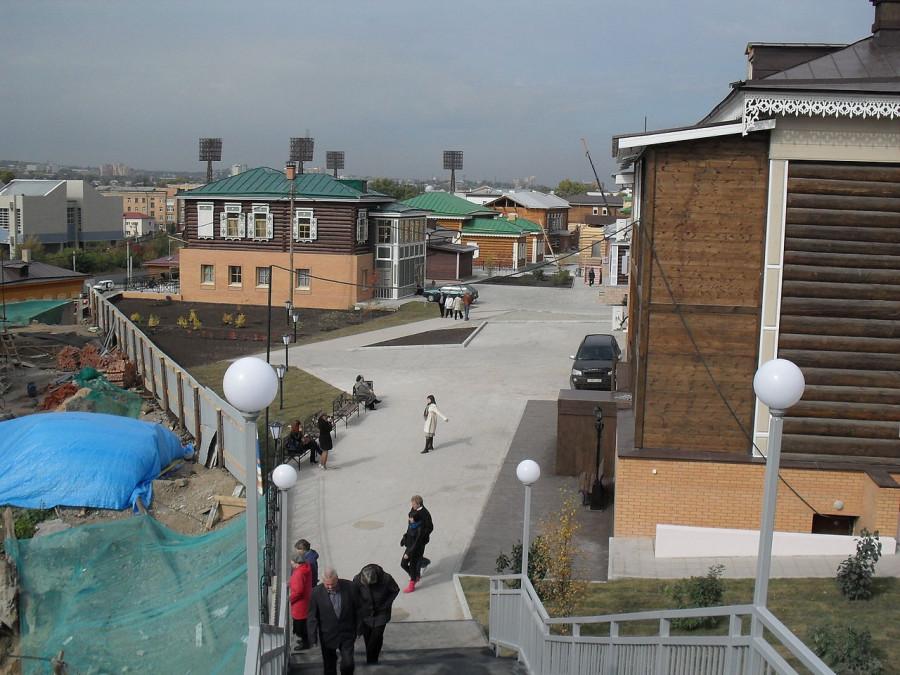 130-й квартал Иркутска.