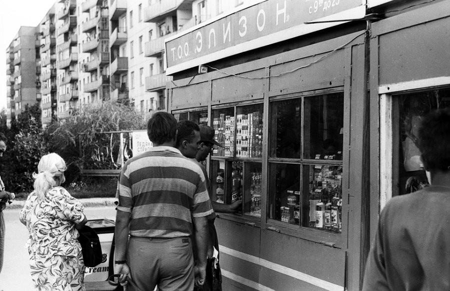 Барнаул в 90-х годах.