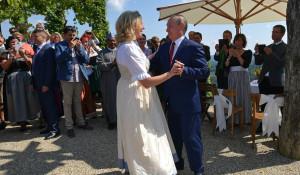 Владимир Путин погулял на свадьбе министра иностранных дел Австрии.
