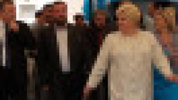 На открытии Бийского сахарного завода после реконструкции, 2011 год. Александр Карлин, Александр Антипин, Ольга Антипина и Ирина Виноградова (слева направо).