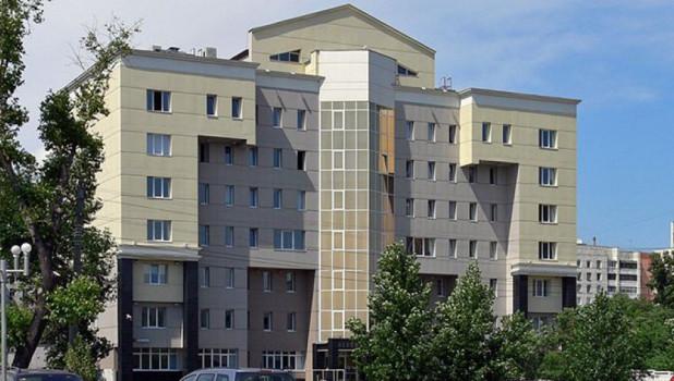 Здание Пенсионного фонда в Барнауле.