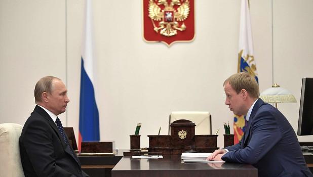 Владимир Путин встретился с Виктором Томенко.