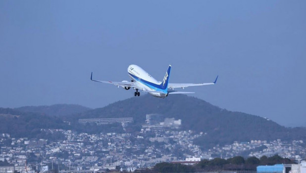 Самолет. Посадка.