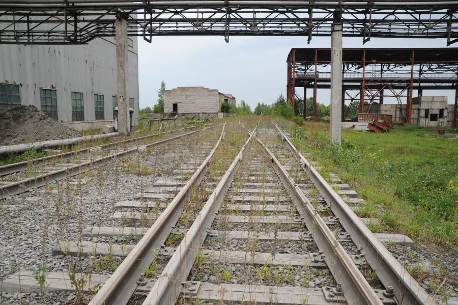 Завод в Голухе.