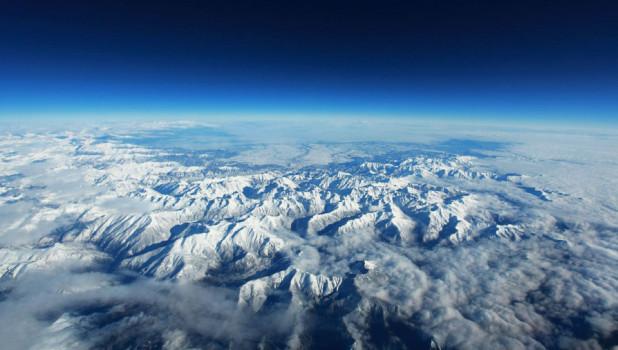 Горы. Космос