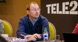 Гендиректор компании Tele2 Сергей Эмдин.