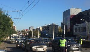 Пробки в Барнауле 18 сентября.