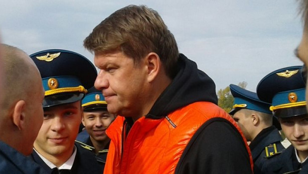 Дмитрий Губерниев в Барнауле.