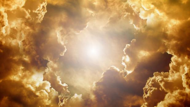 Облака. Свет. Лучи