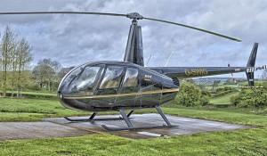 Вертолет Robinson R-44.
