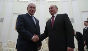Владимир Путин и Биньямин Нетаньяху.