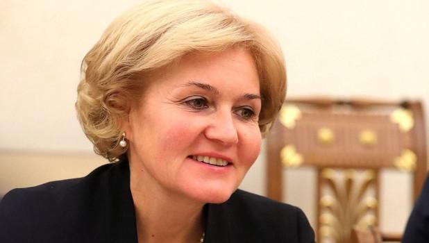 Заместитель председателя правительства Ольга Голодец.