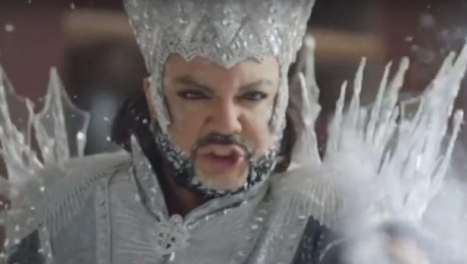 Филипп Киркоров в образе Снежной королевы.