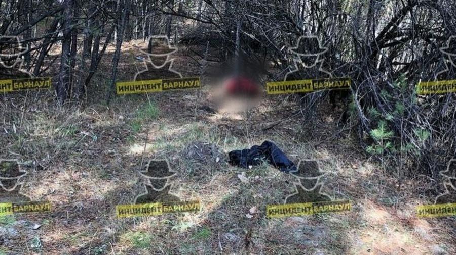 Фотографии с места, где обнаружили труп похищенного барнаульца.