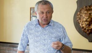 """Александр Ракшин, гендиректор компании """"Мария-Ра"""". """"Круглый стол"""" по ритейлу. 2018 год."""