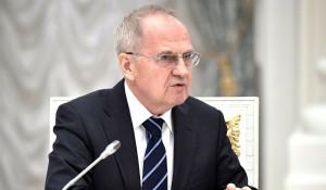 Председатель Конституционного суда Валерий Зорькин.