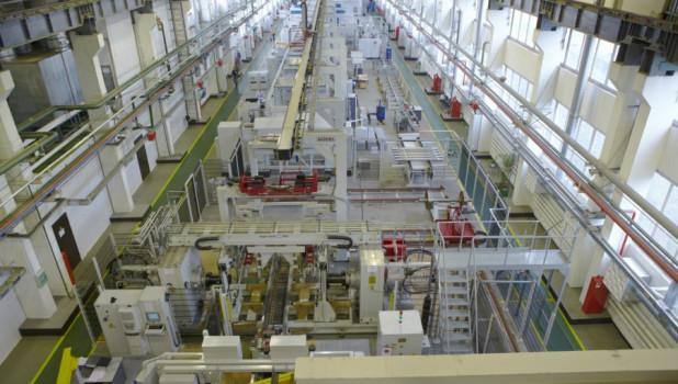 Автоматизированный участок по производству колесных пар.