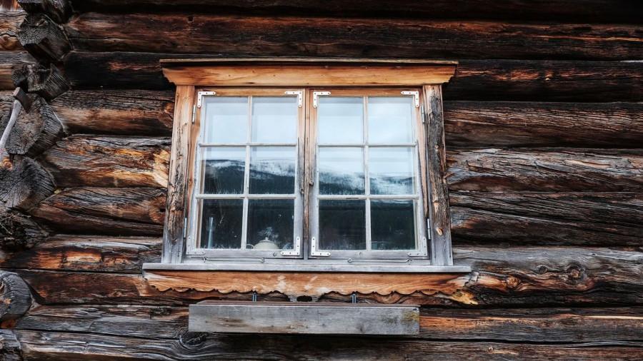 Недвижимость. Деревянный дом.