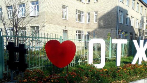 В Омске украли железное сердце техникума.