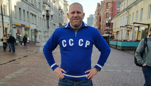 Боец ММА Сергей Харитонов.