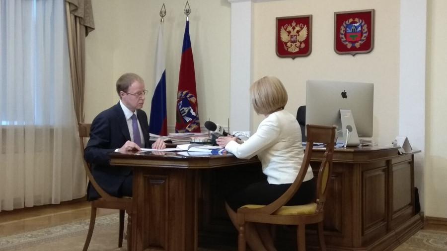Виктор Томенко и Ольга Казанцева.
