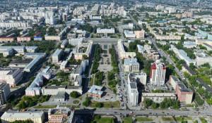 Реализованная часть Обского бульвара.