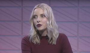 Мария Мотузная в студии RTVI.