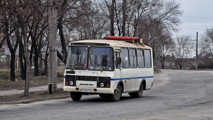 Автобус ПАЗ.