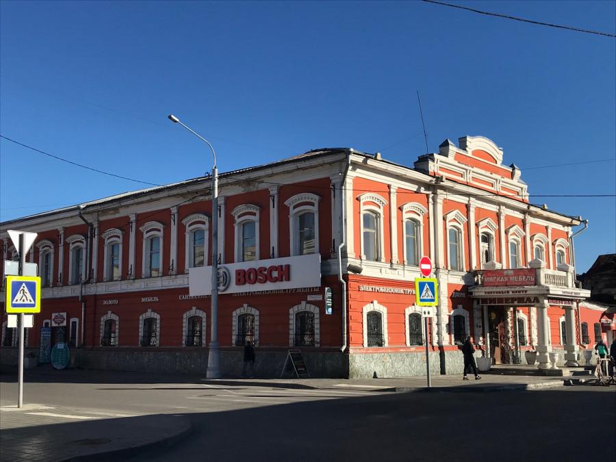 Здание на ул. Льва Толстого, 33.