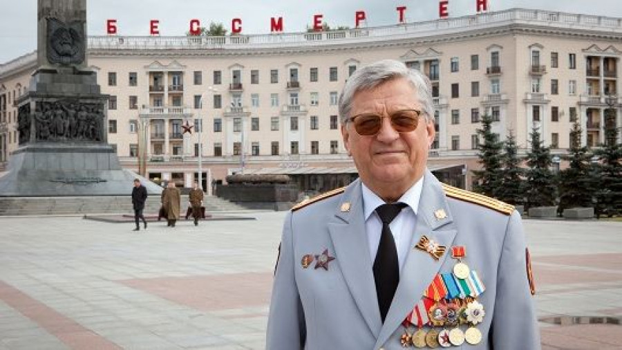Лучший биатлонист XX века Александр Тихонов.