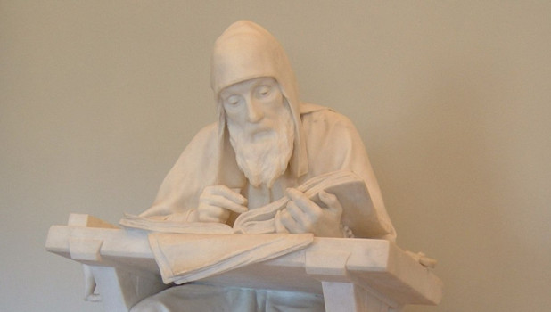 Нестор Летописец. Скульптура М. Антокольского