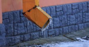 Барнаул обледенел после резкого похолодания. 9 ноября 2018 года.