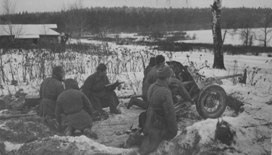 Солдаты Советской армии, 1941 год