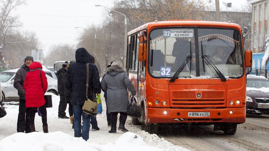 Маршрутка 32. Общественный транспорт.