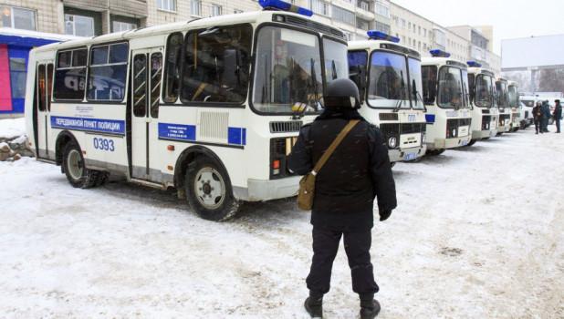 Полиция в Барнауле
