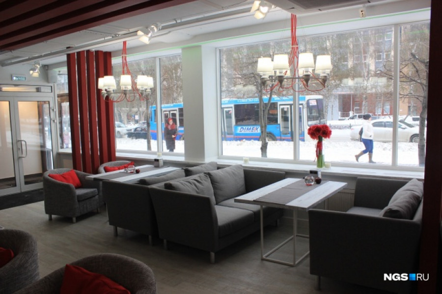 Один из новосибирских ресторанов сети Tom Yum Bar.