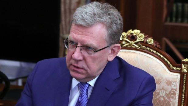 Председатель Счетной палаты Алексей Кудрин.