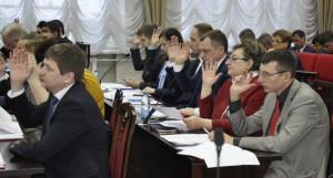 Депутаты Барнаульской городской думы, 30 ноября 2018 года.