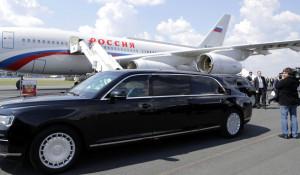 Лимузин президента РФ Владимира Путина.