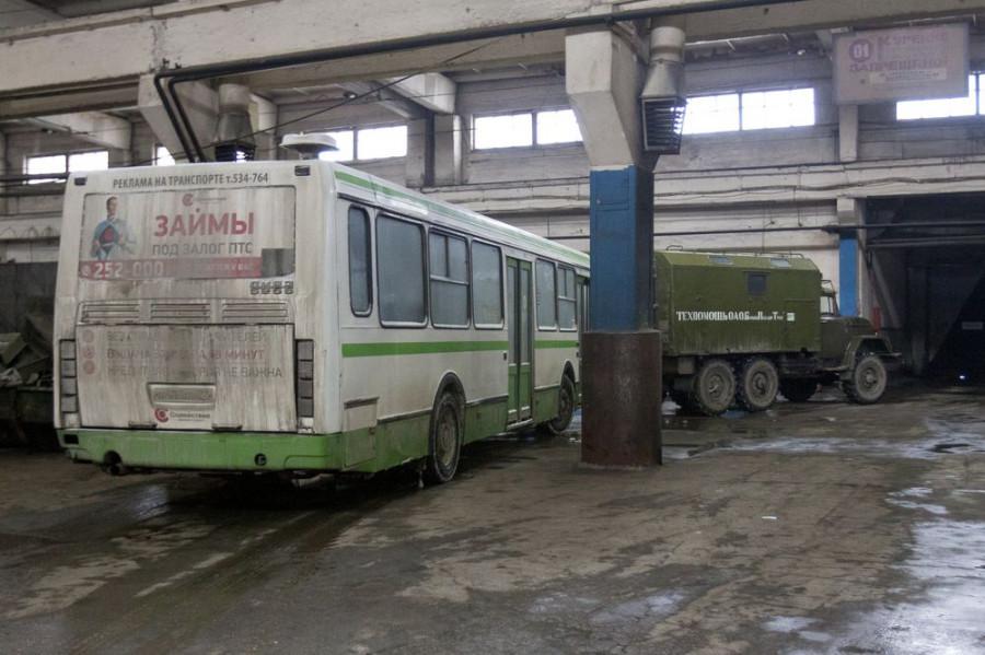 "На базе ""БарнаулПассажирТранса""."