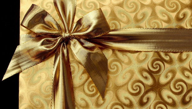 Подарок. Бант